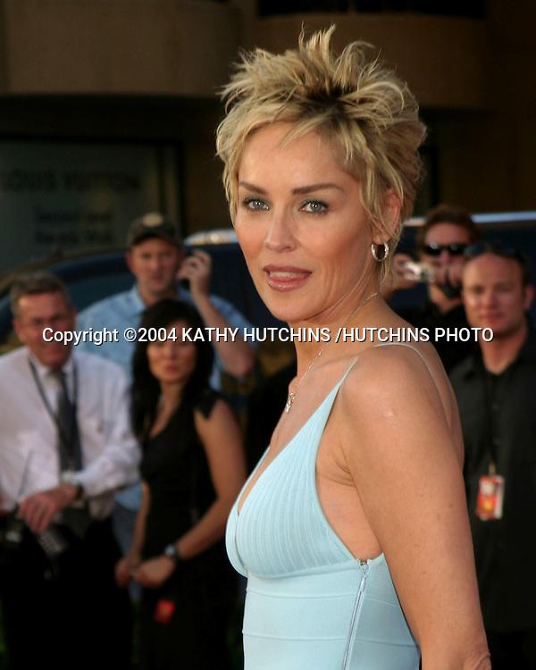 ©2004 KATHY HUTCHINS /HUTCHINS PHOTO.ESPY AWARDS.HOLLYWOOD, CA.JULY 14, 2004..SHARON STONE