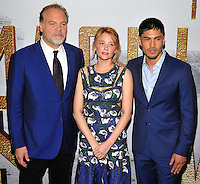 New York, NY- September 19: Vincent D'Onofrio, Haley Bennett and Martin Sensmeier attends the 'The Magnificent Seven' New York premiere at Museum of Modern Art on September 19, 2016 in New York City@John Palmer / Media Punch