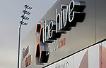 Barnet 2 Morecambe 0, 16/12/2017. The Hive, League Two. A sign at The Hive, home of Barnet FC. Photo by Paul Thompson.