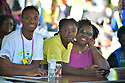MIRAMAR,  FLORIDA - JANUARY 20: Jonathan Louis, Jayden Louis and Linda Walters attend the annual Reverend Dr. Martin Luther King, Jr. Day celebration City Miramar MLK Parades between Sherman Cirrcle and Lakeshore Park on January 20, 2020 in Miramar, Florida.  ( Photo by Johnny Louis / jlnphotography.com )