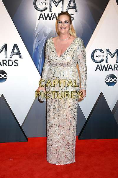 4 November 2015 - Nashville, Tennessee - Trisha Yearwood. 49th CMA Awards, Country Music's Biggest Night, held at Bridgestone Arena. <br /> CAP/ADM/LF<br /> &copy;LF/ADM/Capital Pictures