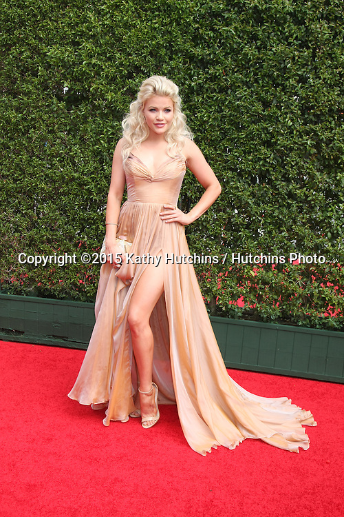 LOS ANGELES - SEP 12:  Witney Carson at the Primetime Creative Emmy Awards Arrivals at the Microsoft Theater on September 12, 2015 in Los Angeles, CA