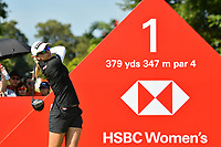 SINGAPORE - MARCH 03: Jodi Ewart Shadoff of England on the 1st tee during the final round of the HSBC Women's World Championship 2019 at Sentosa Golf Club - Tanjong Course, Singapore on March 03, 2019.<br /> .<br /> .<br /> .<br /> (Photo by: Naratip Golf Srisupab/SEALs Sports Images)<br /> .<br /> Any image use must include a mandatory credit line adjacent to the content which should read: Naratip Golf Srisupab/SEALs Sports Images