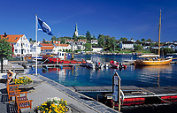 Norwegen, Aust Agder, Lillesand an der Sonnenkueste Suednorwegens | Norway, Aust Agder, Lillesand at South Norways Sunshine Coast