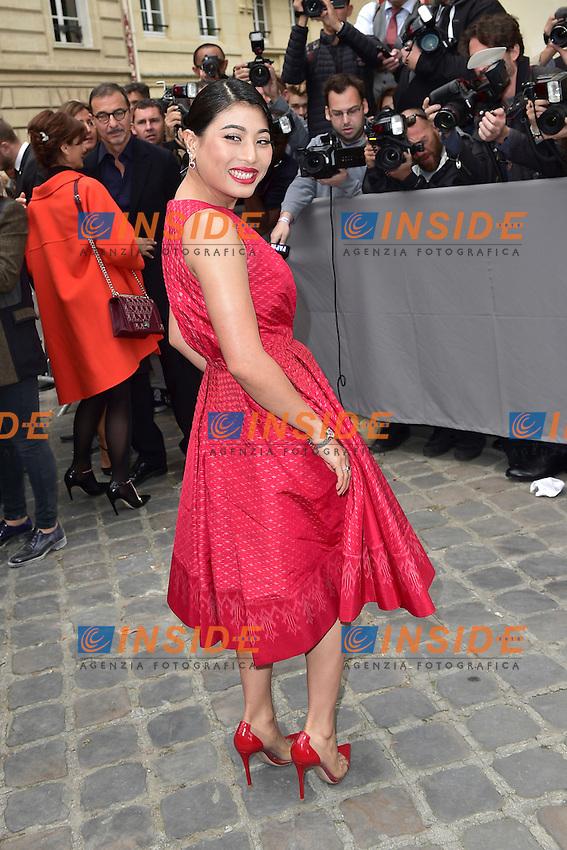 Princesse Sirivannavari Nariratana de Thailande <br /> Dior fashion show arrivals - Paris - 30/09/2016