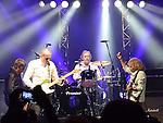 Original Status Quo members Francis Rossi, Rick Parfitt, Alan Lancaster and John Coughlan, The Frantic Four reunited at the Manchester Apollo 12-03-13. Photo:Colin Bell/pressphotos.ie