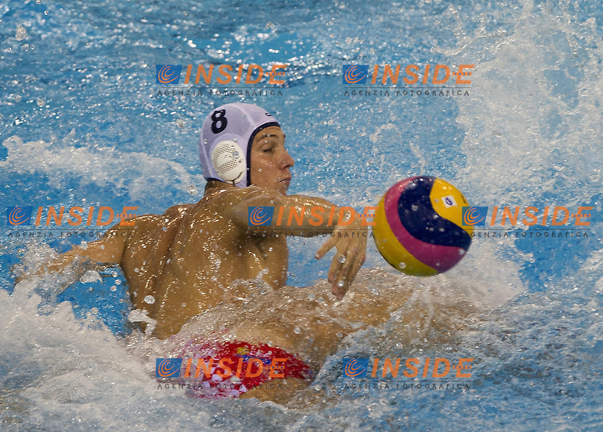 Shanghai , China (CHN) 16-31 July 2001.XIV FINA Swimming World Championships.day 05.Men's Water Polo.Canada Vs Croatia..GRAHAM Kevin.Photo Insidefoto / Giorgio Scala