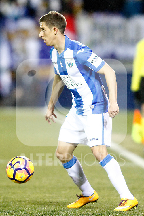 CD Leganes' Alexander Szymanowski during La Liga match. January 28,2017. (ALTERPHOTOS/Acero)