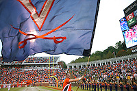 Virginia wins big 47-7 over Indiana October 10, 2009 at Scott Stadium in Charlottesville, Va. Photo/ Special to the Daily Progress/Megan Toomy