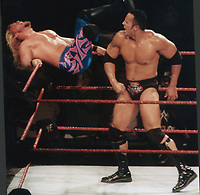 """The Rock'' Dwayne Johnson and Chris Jericho 1999<br /> Photo to By John Barrett-PHOTOlink"