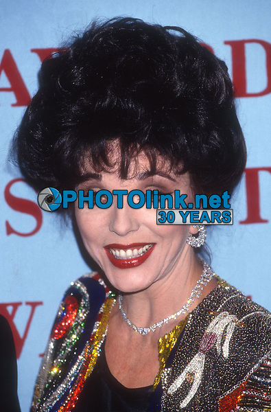 Joan Collins 1991<br /> Photo By Adam Scull/PHOTOlink.net