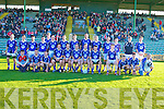 COMPETED: The Kerins O'Rahillys team who competed in he AIB Senior County Championship at Austin Stack Park on Friday.
