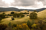 Landscape in the Coloma Valley, California.