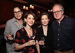 Anne Kauffman, Amy Herzog, Carrie Coon and Tracy Letts attends The New York Drama Critics' Circle Awards at Feinstein's/54 Below on May 10, 2018 in New York City.