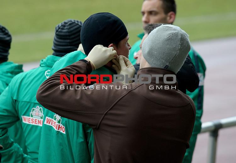 23.02.2015, Platz 11, Bremen, GER, 1.FBL, Laktattest Werder Bremen, im Bild Sebastian Pr&ouml;dl / Proedl (Bremen #15)<br /> <br /> Foto &copy; nordphoto / Frisch