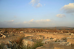 Israel, Shephelah, excavations in Tel Burna, a Canaanite and Israelite site
