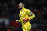Milan Mijatovic of Montenegro during the UEFA Euro 2020 Qualifying Group A match between England and Montenegro at Wembley Stadium on November 14th 2019 in London, England. (Photo by Matt Bradshaw/phcimages.com)<br /> Foto PHC Images / Insidefoto <br /> ITALY ONLY