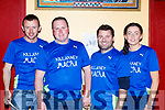 David Horan, John Herlihy, JB Harrington and Katie O'Sullivan at the Macra Got Talent show in Beaufort Thursday evening