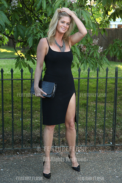 Rachel Hunter arriving for the Serpentine Summer Party, at the Serpentine Gallery, Hyde Park, London. 01/07/2014 Picture by: Alexandra Glen / Featureflash