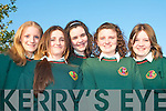 AWARDS NIGHT: Students of Causeway Comprehensive School enjoying their awards night at the School on Thursday night l-r: Amanda Gentleman, Karen Harty, Bernadette Leen, Jessica Hamilton and Emma Quirke.   Copyright Kerry's Eye 2008