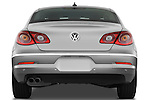 Straight rear view of a 2009 volkswagen cc luxary