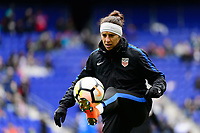 Harrison, NJ - Sunday March 04, 2018: Carli Lloyd during a 2018 SheBelieves Cup match match between the women's national teams of the United States (USA) and France (FRA) at Red Bull Arena.