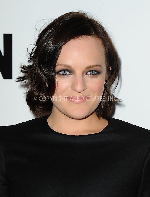 WWW.ACEPIXS.COM<br /> <br /> April 2 2014, LA<br /> <br /> Elisabeth Moss arriving at AMC's 'Mad Men' Season 7 premiere at ArcLight Cinemas on April 2, 2014 in Hollywood, California<br /> <br /> By Line: Peter West/ACE Pictures<br /> <br /> <br /> ACE Pictures, Inc.<br /> tel: 646 769 0430<br /> Email: info@acepixs.com<br /> www.acepixs.com