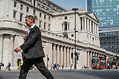 Bank of England, Threadneedle Street, City of London.