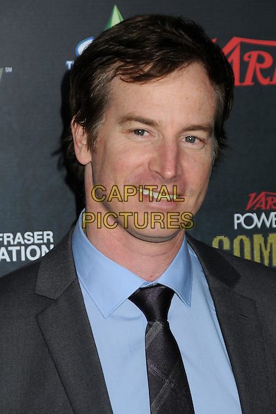 Rob Huebel.Variety's 2nd Annual Power of Comedy Event held at the Hollywood Palladium, Hollywood, California, USA, .19th November 2011..portrait headshot blue shirt tie grey gray smiling .CAP/ADM/BP.©Byron Purvis/AdMedia/Capital Pictures.