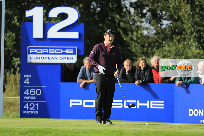 Robert Macintyre (SCO) during the second round of the Porsche European Open , Green Eagle Golf Club, Hamburg, Germany. 06/09/2019<br /> Picture: Golffile | Phil Inglis<br /> <br /> <br /> All photo usage must carry mandatory copyright credit (© Golffile | Phil Inglis)