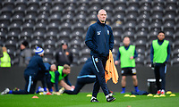 Sheffield Wednesday's coach Lee Bullen during the pre-match warm-up<br /> <br /> Photographer Chris Vaughan/CameraSport<br /> <br /> The EFL Sky Bet Championship - Hull City v Sheffield Wednesday - Saturday 12th January 2019 - KCOM Stadium - Hull<br /> <br /> World Copyright &copy; 2019 CameraSport. All rights reserved. 43 Linden Ave. Countesthorpe. Leicester. England. LE8 5PG - Tel: +44 (0) 116 277 4147 - admin@camerasport.com - www.camerasport.com