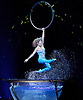 Amaluna from Cirque du Soleil at The Royal Albert Hall, London, <br /> Great Britain <br /> performance <br /> 15th January 2016 <br /> <br /> <br /> Cerceau - Marie-Michelle Faber <br /> <br /> <br /> Photograph by Elliott Franks <br /> Image licensed to Elliott Franks Photography Services