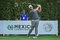George Coetzee (RSA) watches his tee shot on 12 during round 2 of the World Golf Championships, Mexico, Club De Golf Chapultepec, Mexico City, Mexico. 2/22/2019.<br /> Picture: Golffile | Ken Murray<br /> <br /> <br /> All photo usage must carry mandatory copyright credit (© Golffile | Ken Murray)