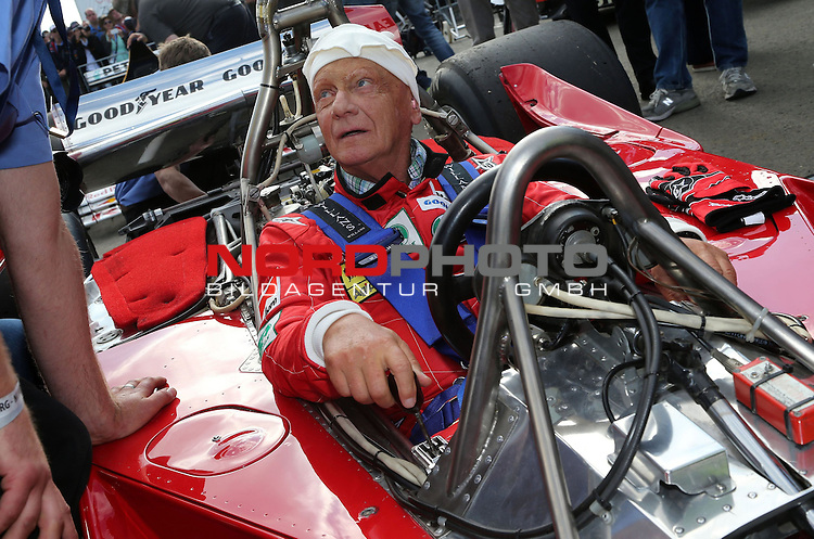 Niki Lauda (AUT) 3x F1 World Champion, Mercedes-Benz non-executive chairman of the board of directors<br /> for the complete Middle East, Austria &amp; Germany Media usage only!<br />  Foto &copy; nph / Mathis