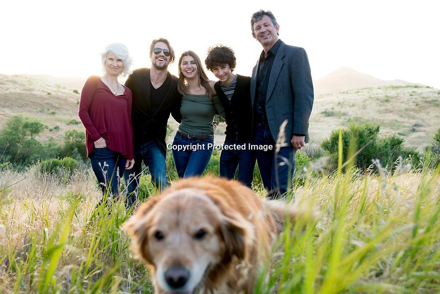 Dana's Graduation Family Session in the Benicia hills.