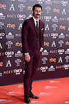 Hugo Silva attends to the Red Carpet of the Goya Awards 2017 at Madrid Marriott Auditorium Hotel in Madrid, Spain. February 04, 2017. (ALTERPHOTOS/BorjaB.Hojas)