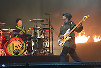 SAN FRANCISCO, CALIFORNIA - AUGUST 09: Twenty One Pilots - Tyler Joseph and Josh Dun perform during the 2019 Outside Lands music festival at Golden Gate Park on August 09, 2019 in San Francisco, California. Photo: imageSPACE/MediaPunch<br /> CAP/MPI/ISAB<br /> ©ISAB/MPI/Capital Pictures