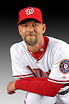 25 February 2007: Washington Nationals pitcher Chris Michalak poses for his Photo Day portrait at Space Coast Stadium in Viera, Florida.<br /> <br /> Mandatory Photo Credit: Ed Wolfstein Photo<br /> <br /> Note: This image is available in a RAW (NEF) File Format - contact Photographer.