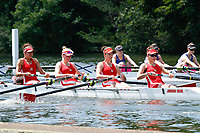 Race: 141 J4+ Heat - Kingston GS vs St Andrew BC<br /> <br /> Henley Women's Regatta 2017<br /> <br /> To purchase this photo, or to see pricing information for Prints and Downloads, click the blue 'Add to Cart' button at the top-right of the page.