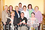 ARTHRITIS: The Kerry Branch of Arthritis Ireland held a meeting at The Brandon Hotel, Tralee, on Tuesday night. Front l-r: Aileen O'Carroll (Chartered Physiotherapist), Tom Barrett (Kerry Branch Chairman) and Rosemarie Caulfield (Occupational Therapist). Back l-r: Helen O'Shea, Dolores Harrington, Phyllis Maher, John O'Rourke, Bertha Hanafin, Noreen Horan and Kathleen O'Rourke. .