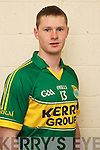 James Walsh member of the Kerry U-21 panel 2012