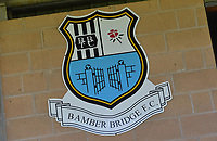 A general view of Sir Tom Finney Stadium, home of Bamber Bridge FC<br /> <br /> Photographer Dave Howarth/CameraSport<br /> <br /> Football Pre-Season Friendly - Bamber Bridge v Preston North End - Saturday 6th July 2019 - Sir Tom Finney Stadium - Bamber Bridge<br /> <br /> World Copyright © 2019 CameraSport. All rights reserved. 43 Linden Ave. Countesthorpe. Leicester. England. LE8 5PG - Tel: +44 (0) 116 277 4147 - admin@camerasport.com - www.camerasport.com