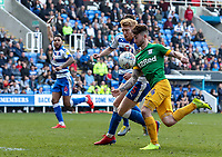 Preston North End's Sean Maguire breaks into the box<br /> <br /> Photographer Andrew Kearns/CameraSport<br /> <br /> The EFL Sky Bet Championship - Reading v Preston North End - Saturday 30th March 2019 - Madejski Stadium - Reading<br /> <br /> World Copyright © 2019 CameraSport. All rights reserved. 43 Linden Ave. Countesthorpe. Leicester. England. LE8 5PG - Tel: +44 (0) 116 277 4147 - admin@camerasport.com - www.camerasport.com