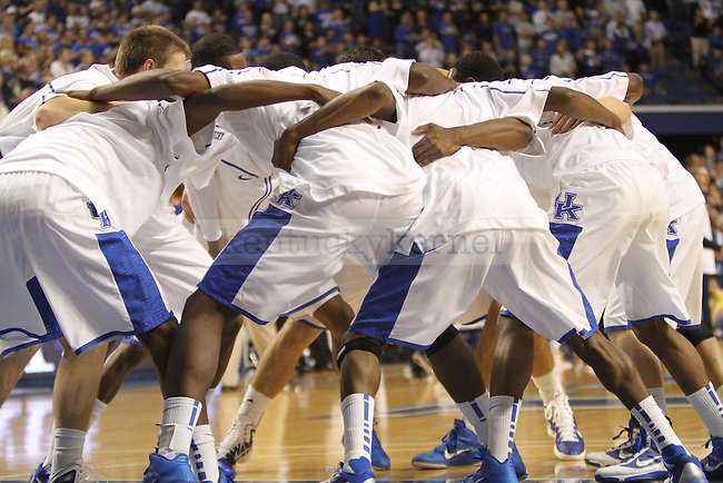 The Kentucky Wildcats played East Tennessee State University at Rupp Arena on Friday, November 12, 2010. Photo by Latara Appleby | Staff
