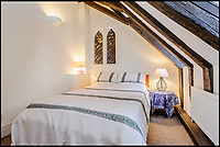 BNPS.co.uk (01202 558833)<br /> Pic: Strutt&amp;Parker/BNPS<br /> <br /> This stunning church conversion will make a heavenly home - as long as the new owner doesn't mind a room with a gravestone view.<br /> <br /> St Mary's is a Grade II* listed house that is at least 600 years old and has only had one owner since it was converted in 1991.<br /> <br /> The property has some stunning ecclesiastical features including original pews, which have been used as dining room benches, and the lectern with an 1877 Bible that contains the names of parishioners killed in both world wars.<br /> <br /> It is now on the market with Strutt &amp; Parker with a guide price of &pound;700,000.