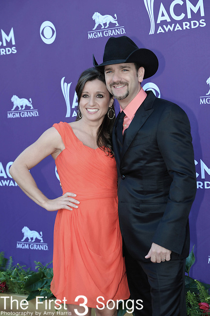 Craig Campbell attends the 47th Annual Academy of Country Music Awards in Las Vegas, Nevada on April 1, 2012.