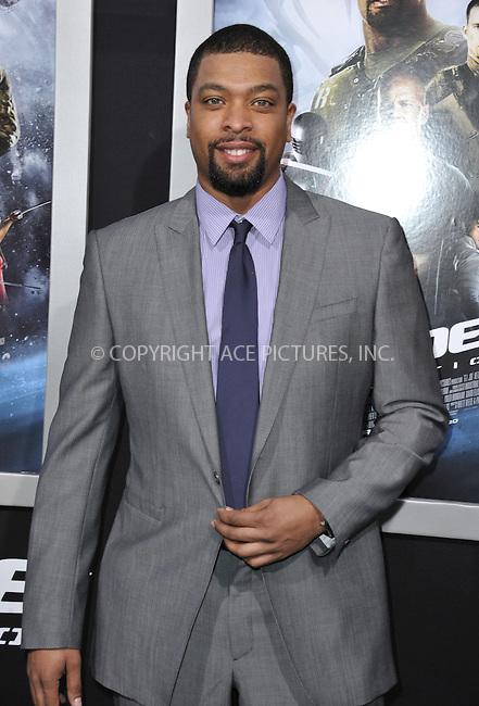 WWW.ACEPIXS.COM....March 28 2013, LA....DeRay Davis arriving at the 'G.I. Joe: Retaliation' Los Angeles premiere at the TCL Chinese Theatre on March 28, 2013 in Hollywood, California.......By Line: Peter West/ACE Pictures......ACE Pictures, Inc...tel: 646 769 0430..Email: info@acepixs.com..www.acepixs.com