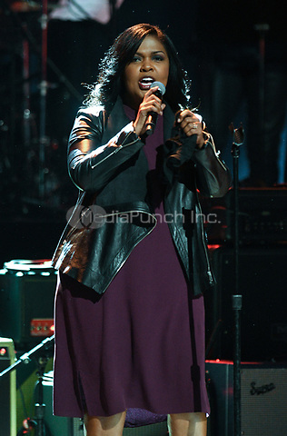 NEW YORK, NY - March 9 : CeCe Winans  Performs on stage at 'Love Rocks NYC! A Change is Gonna Come: Celebrating Songs of Peace, Love and Hope' A Benefit Concert for God's Love We Deliver at Beacon Theatre on March 9, 2017 in New York City. @John Palmer / Media Punch