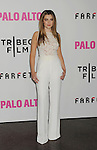LOS ANGELES, CA- MAY 05: Actress Zoe Levin arrives at Tribeca Film's 'Palo Alto' - Los Angeles Premiere at the Director's Guild of America on May 5, 2014 in Los Angeles, California.