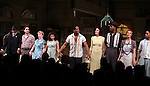 Count Stovall, Matthew Saldivar, Amelia Campbell, Daphne Rubin-Vega, Blair Underwood, Nicole Ari Parker, Wood Harris, Carmen de Lavallade & Aaron Clifton Moten.during the Broadway Opening Night Curtain Call for 'A Streetcar Named Desire' on 4/22/2012 at the Broadhurst Theatre in New York City.